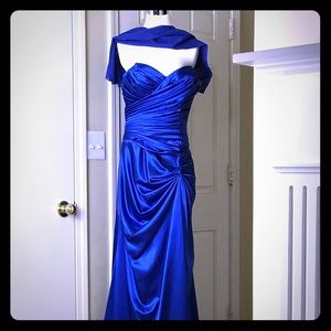 Cinderella Design Strapless Gown